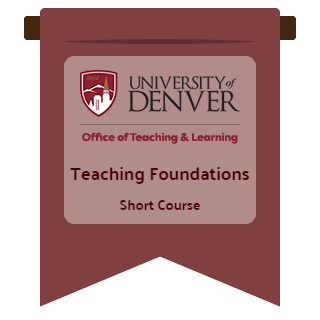 Teaching Foundations Short Course image